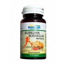 Nutrilab kurkuma boswellia duo kapszula 30 db táplálékkiegészítő
