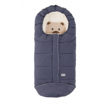 Nuvita AW Junior Cuccioli bundazsák 100cm - Bear Melange Blue / Beige - 9605 babakabát, overál, bundazsák