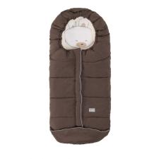 Nuvita AW Junior Cuccioli bundazsák 100cm - Rabbit Melange Brown / Beige - 9605 babakabát, overál, bundazsák
