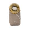 Nuvita Ovetto Pop bundazsák szőrmével 80cm - Melange Biscuit / Beige - 9236