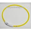 Nyakörv világítós LED 65cm, USB töltős