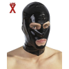 Nyitott latex maszk