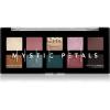 NYX Professional Makeup Mystic Petals szemhéjfesték paletta árnyalat Dark Mystic 10 x 0,8 g