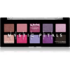 NYX Professional Makeup Mystic Petals szemhéjfesték paletta árnyalat Midnight Orchid 10 x 0,8 g
