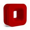 NZXT Puck mágneses fejhallgatótartó piros