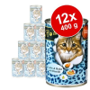 O'Canis for Cats gazdaságos csomag 12 x 400 g - Nyúl, csirke & lazacolaj