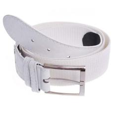 O&T Foster öv fém csattal, elasztikus fehér 3,6cm