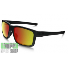 OAKLEY Mainlink Matte Black Ruby Iridium Polarized