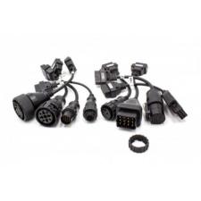 OBD1 és OBD2 adapterek teherautókhoz Volvo Renault MAN Mercedes Iveco stb. szerszám kiegészítő