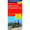 Obere Donau - Schwäbische Alb kerékpártérkép - Kompass FK 3110