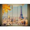 Odea.hu Ősz Párizsban vászonkép 115x100 5 részes