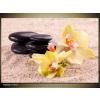 Odea.hu Sárga orchidea zen vászonkép 90x60 1 részes