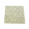 OEM Márvány mozaik DIVERO krémszínű csempék 11 db - 1m²