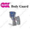 OKBABY Gyerekülés hátsó vázra OkBaby Body Guard ezüst, kék párnával