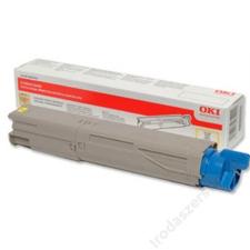 Oki 43459433 Lézertoner C3300, 3400, 3450 nyomtatókhoz, OKI sárga , 1,5k (TOOKI3450YS) nyomtatópatron & toner