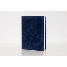 . Oklevéltartó, A4, exkluzív, kék névjegytartó
