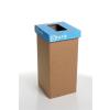 """ÖKUKA Szelektív hulladékgyűjtő, újrahasznosított, 20 l, RECOBIN """"Mini"""", kék"""