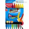 Olajpasztell kréta, MAPED `Color`Peps, 18 különböző szín