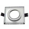 - Olcsó üveg spot lámpatest (1082OSZK), négyzet, fix, ezüst