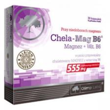 OLIMP LABS Kelátkötésű Magnézium + B6 kapszula táplálékkiegészítő