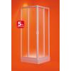 OLSEN Spa Vela EX szögletes plexi zuhanykabin 75-80x75-80