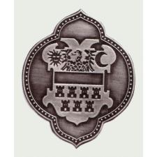 Ón csúcsos Erdély címer autós öntapadó matrica (8,5X7 cm) ajándéktárgy