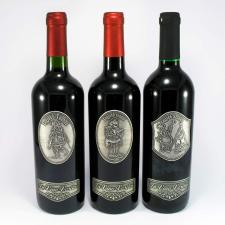 Óncímkés bor Rendőr pezsgős pohár