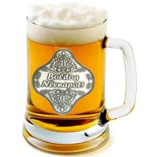 Óncímkés sörös korsó Névnap, Nyugdíjas, Mosonmagyaróvár (3.) sörös pohár