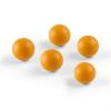 oneConcept Ballyhoo, pótlabdák, kiegészítő labdák, 5 labda, poliuretán, narancssárga