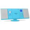 oneConcept V-12 Stereoanlage USB SD CD MP3 AUX UKW  Fernbedienung blau