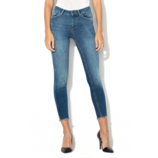 Only , Blush skinny fit mosott hatású farmernadrág, Sötétkék, L-L32 (15157996-DARK-BLUE-DENIM-L-L32)