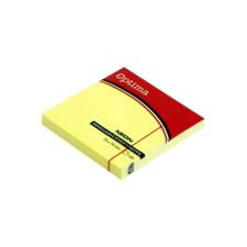 OPTIMA Öntapadós jegyzet OPTIMA 75x75mm neon sárga 100 lap jegyzettömb