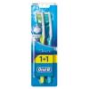 Oral-B 3D White Advantage Medium Manuális Fogkefe - 2 db
