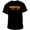 Orange Classic Black Orange T-Shirt Large