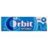 Orbit Peppermint mentaízű cukormentes rágógumi édesítőszerrel 10 db 14 g