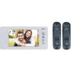 ORNI 4 vezetékes egylakásos szupervékony video kaputelefon szett JS-1040W-DD