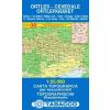 Ortles, Cevedale - Ortlergebiet térkép - 08 Tabacco