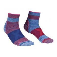 Ortovox Quarter Socks W kék/rózsaszín / Zoknie: 39-41 női zokni