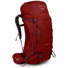 OSPREY Kestrel 48 II piros / Hátizsák hátrésze: M/L hátizsák