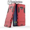 OTT! MOBILE TRANSFORM műanyag védő tok / hátlap - PIROS - szilikon betétes, kitámasztható - ERŐS VÉDELEM! - SAMSUNG Galaxy Note9