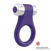 OVO - B1 Vibrációs Péniszgyűrű Lila/Króm