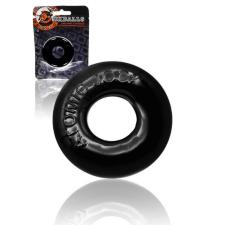 OXBALLS OXBALLS Donut 2 - extra erős péniszgyűrű (fekete) péniszgyűrű