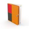 Oxford Spirálfüzet, B5, vonalas, 80 lap, OXFORD, International Notebook (OX40785)