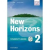 Oxford University Press New Horizons 2 - Student's Book + Audio CD