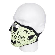 Oxford Védőmaszk Oxford Glow Skull motoros maszk, nyakvédő