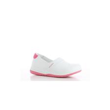 OXYPAS Cipő fehér-rózsaszín OXYPAS SUZY SRC ESD 37 munkavédelmi cipő