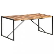 Paliszander felületű tömör fa étkezőasztal 180 x 90 x 75 cm bútor