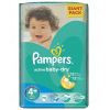 Pampers Active Baby-Dry 4+ Maxi+ pelenka 9-16kg 70db
