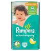 Pampers Active Baby-Dry Pelenka Méret 4+ (Maxi+), 53 Darabos Kiszerelés
