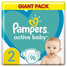Pampers Active Baby Pelenka, 2-es méret, 96 db, 4-8kg pelenka